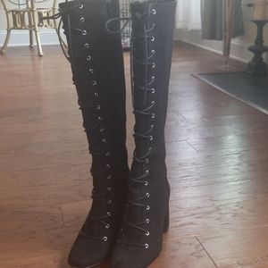 BCBGeneration Lace Up Boots